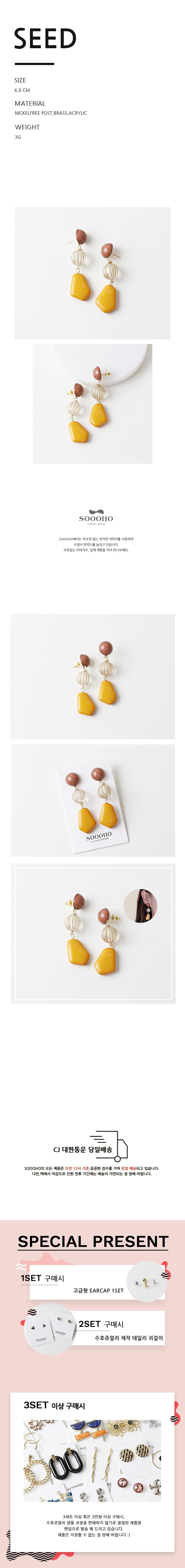 seed 925실버 포인트 드롭귀걸이 - 수호쥬얼리, 14,500원, 진주/원석, 드롭귀걸이
